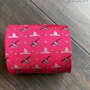 Bird Dog Bay. Handmade. 100% silk tie.